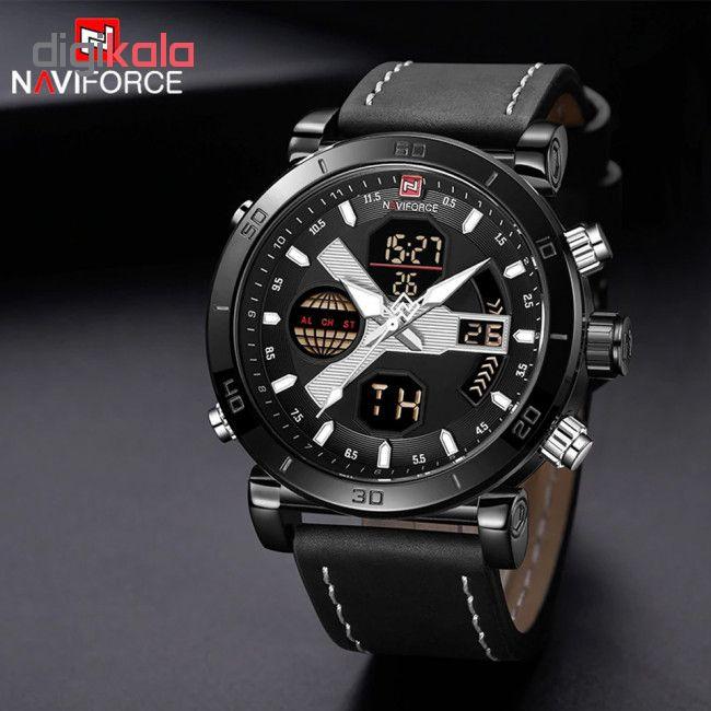 ساعت مچی دیجیتال مردانه نیوی فورس کد NF9132M - ME-SE             قیمت