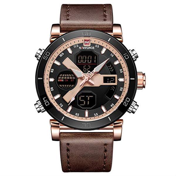 کد تخفیف                                      ساعت مچی دیجیتال مردانه نیوی فورس کد NF9132M - GHA-RO-ME