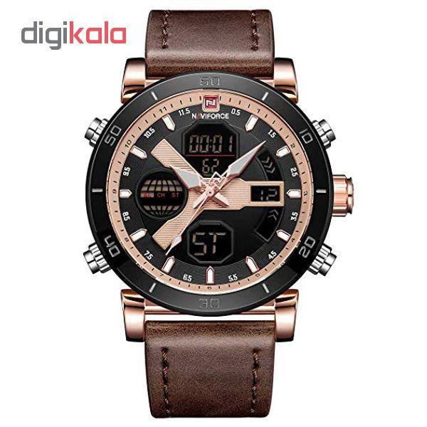 ساعت مچی دیجیتال مردانه نیوی فورس کد NF9132M - GHA-RO-ME             قیمت