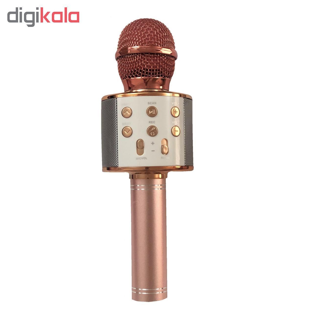 میکروفون اسپیکر مدل WS-858 main 1 1