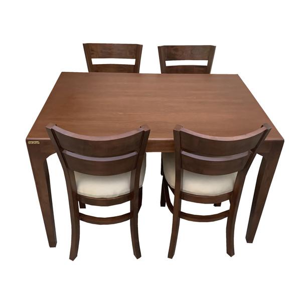 میز و صندلی ناهار خوری اسپرسان چوب کد Sm56