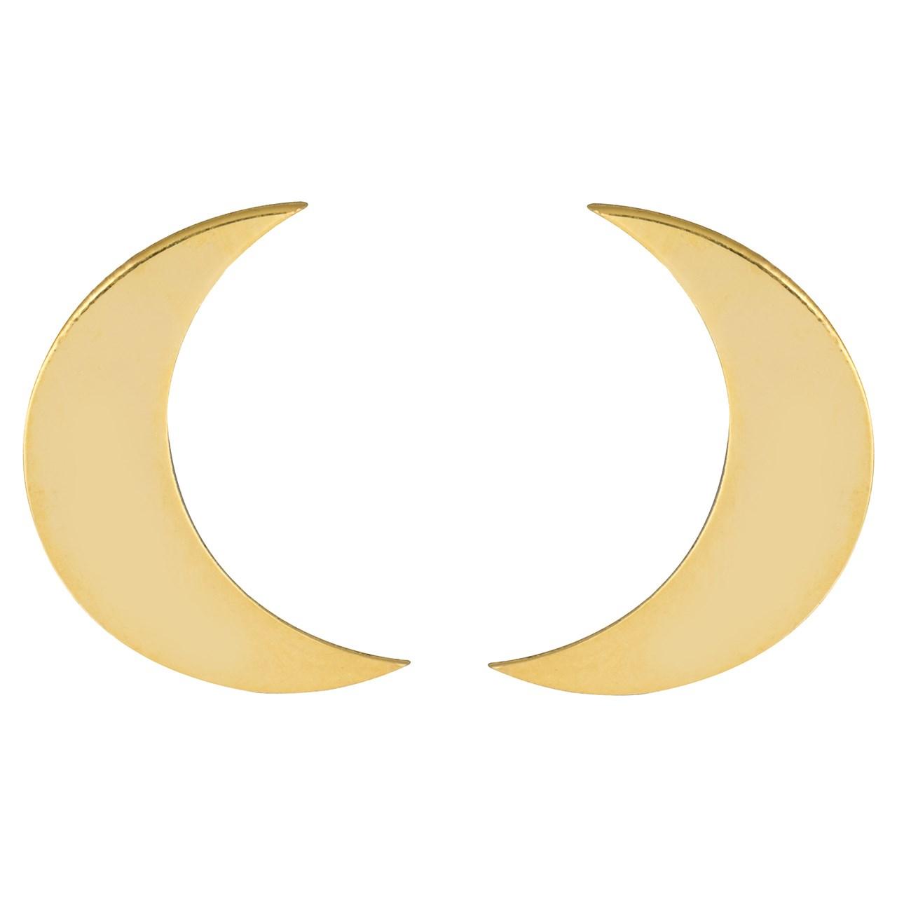گوشواره طلا 18 عیار پندار گلد مدل GM01
