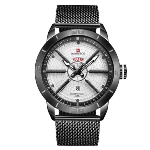 کد تخفیف                                      ساعت مچی عقربه ای مردانه نیوی فورس کد NF9155M - ME-SE