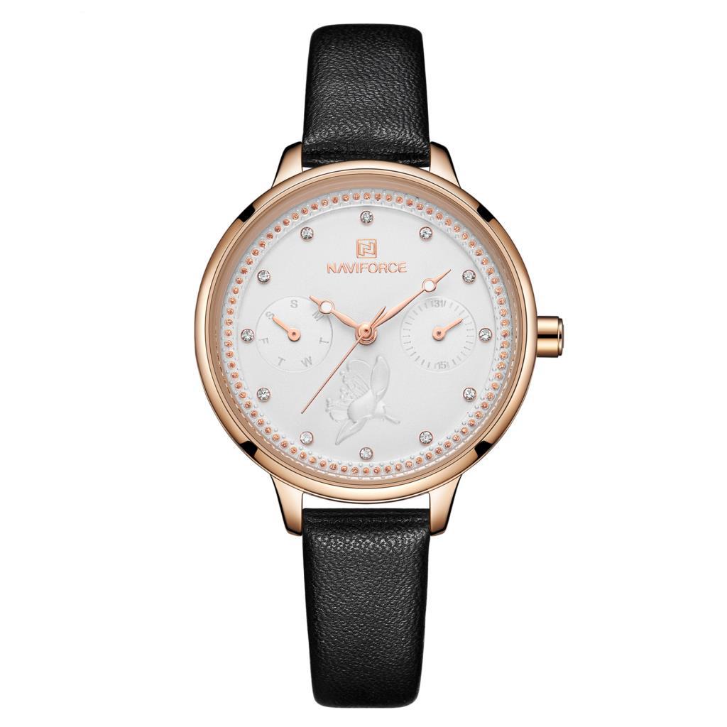 ساعت مچی عقربه ای زنانه نیوی فورس مدل NF5003L - ME-TA              خرید (⭐️⭐️⭐️)