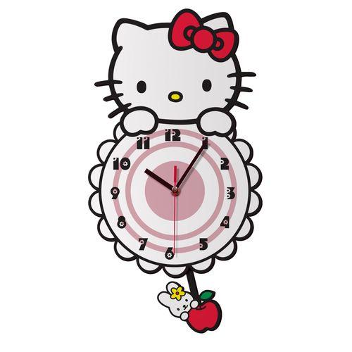 ساعت دیواری ژیوار طرح  kitty