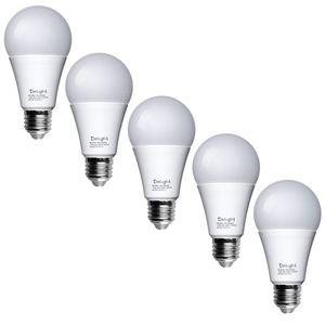 لامپ ال ای دی 9 وات حبابی دیلایت مدل WLI00007-8 پایه E27 بسته 5 عددی