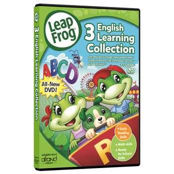 فیلم آموزش زبان انگلیسی Leapfrog 3 English Learning Collection انتشارات نرم افزاری افرند