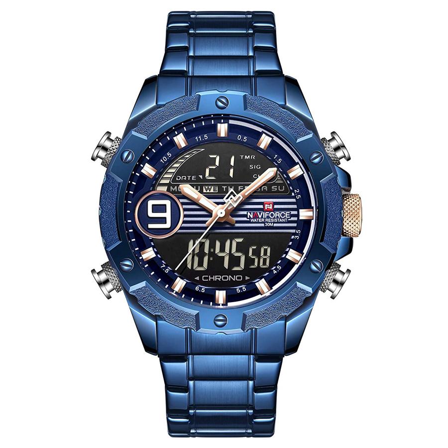 کد تخفیف                                      ساعت مچی دیجیتال مردانه نیوی فورس کد NF9146M - FE-SO