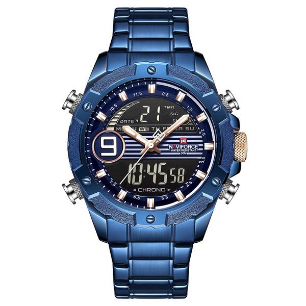 ساعت مچی دیجیتال مردانه نیوی فورس کد NF9146M - FE-SO