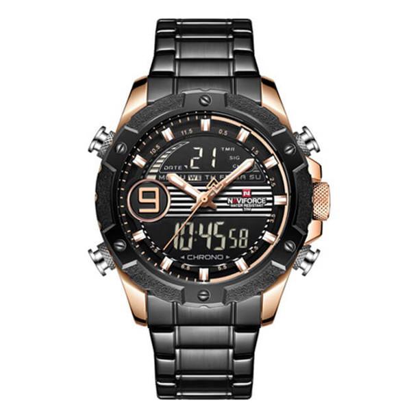 ساعت مچی دیجیتال مردانه نیوی فورس کد NF9146M - FE-ME-RO