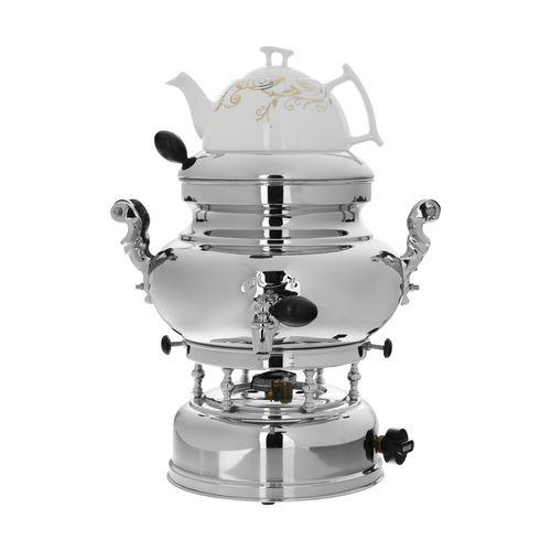سماور گازسوز ماهان مدل یاس ظرفیت 6 لیتر