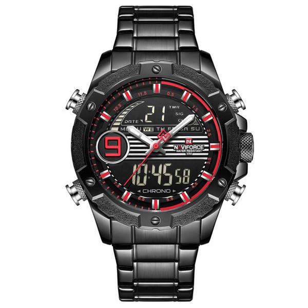 ساعت مچی دیجیتال مردانه نیوی فورس کد NF9146M - FE-ME-GHER