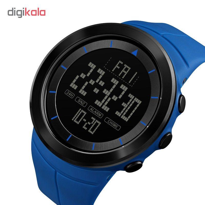 کد تخفیف                                      ساعت مچی دیجیتال مردانه اسکمی مدل 1402A