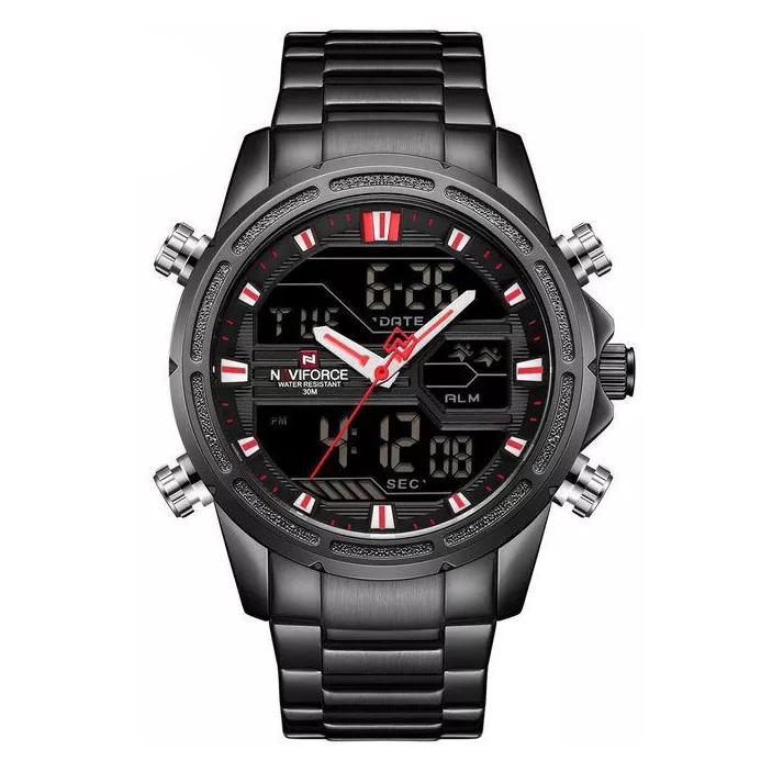 ساعت مردانه نیوی فورس کد NF9138M - FE-ME-GHER