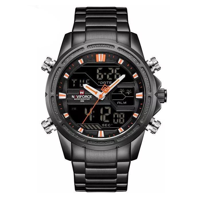کد تخفیف                                      ساعت مچی عقربه ای مردانه نیوی فورس کد NF9138M - FE-ME-NAR