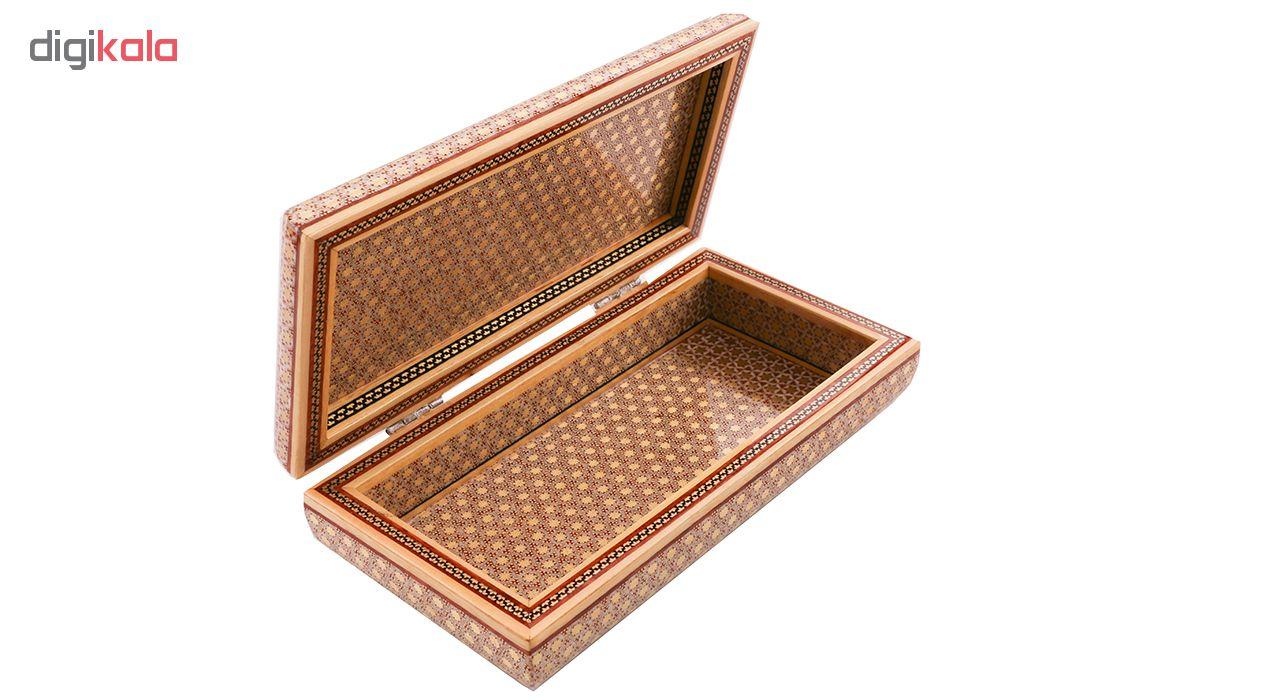 خرید                      جعبه جواهر خاتم کاری کد 899