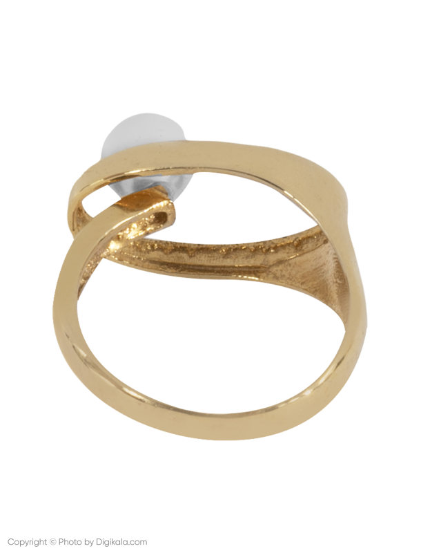 انگشتر طلا 18 عیار زنانه زرمان مدل ZMR0313