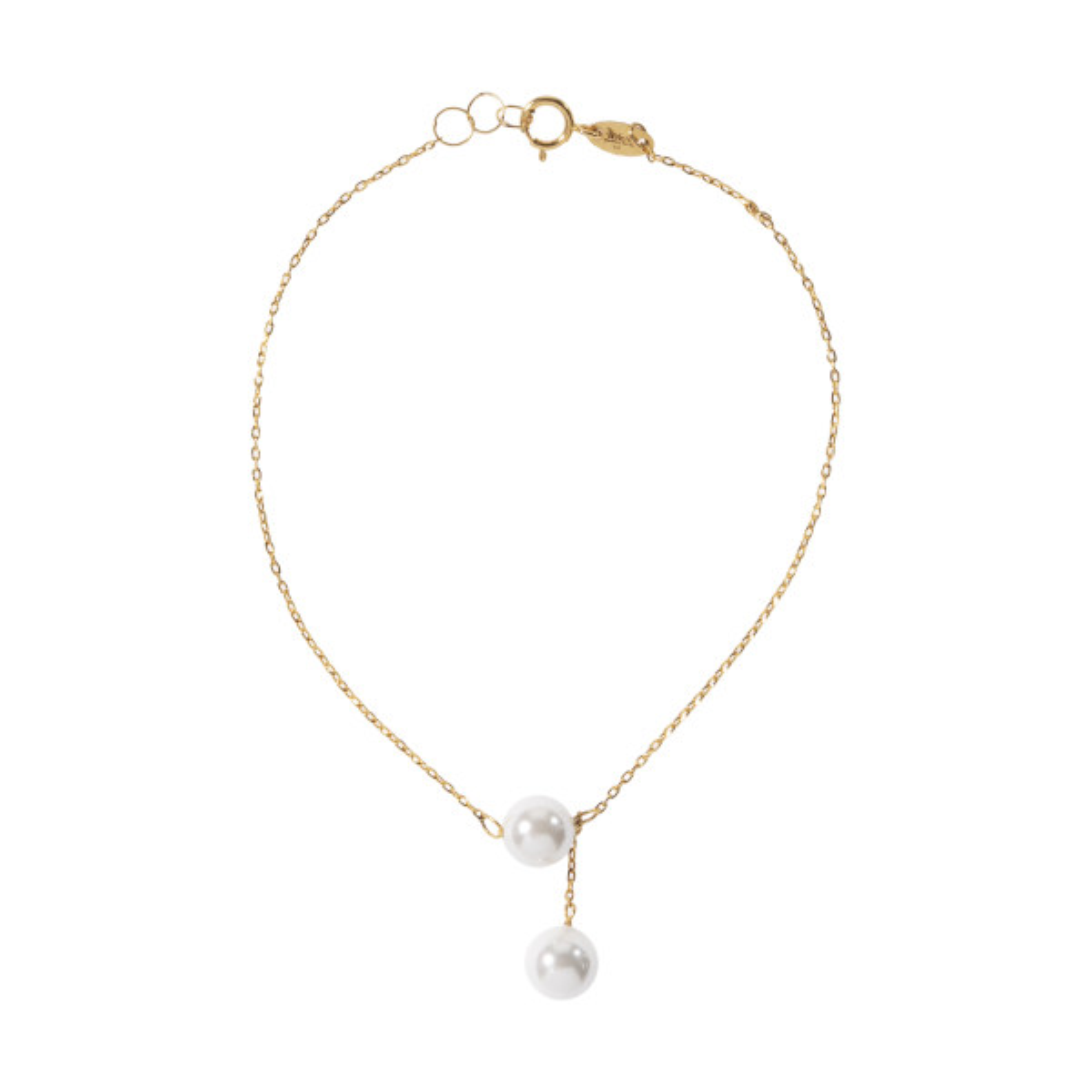 دستبند طلا 18 عیار زنانه زرمان مدل ZMB0929