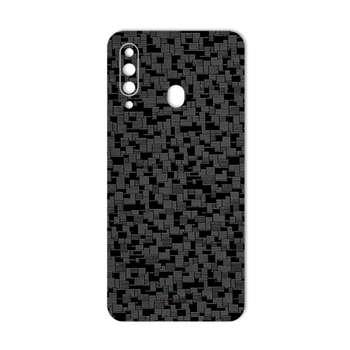 برچسب پوششی ماهوت مدل Silicon-Texture مناسب برای گوشی موبایل سامسونگ Galaxy A60