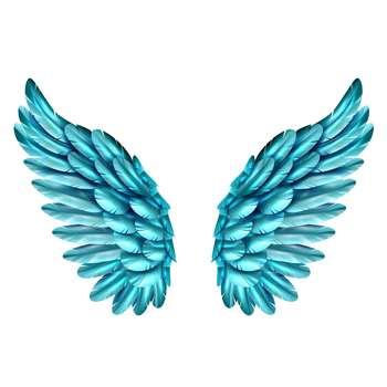 استیکر لپ تاپ طرح Wings کد 02