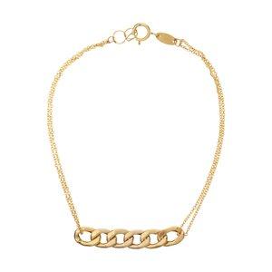 دستبند طلا 18 عیار زنانه زرمان مدل ZMB0942