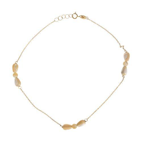 پابند طلا 18 عیار زنانه زرمان مدل ZMA0120