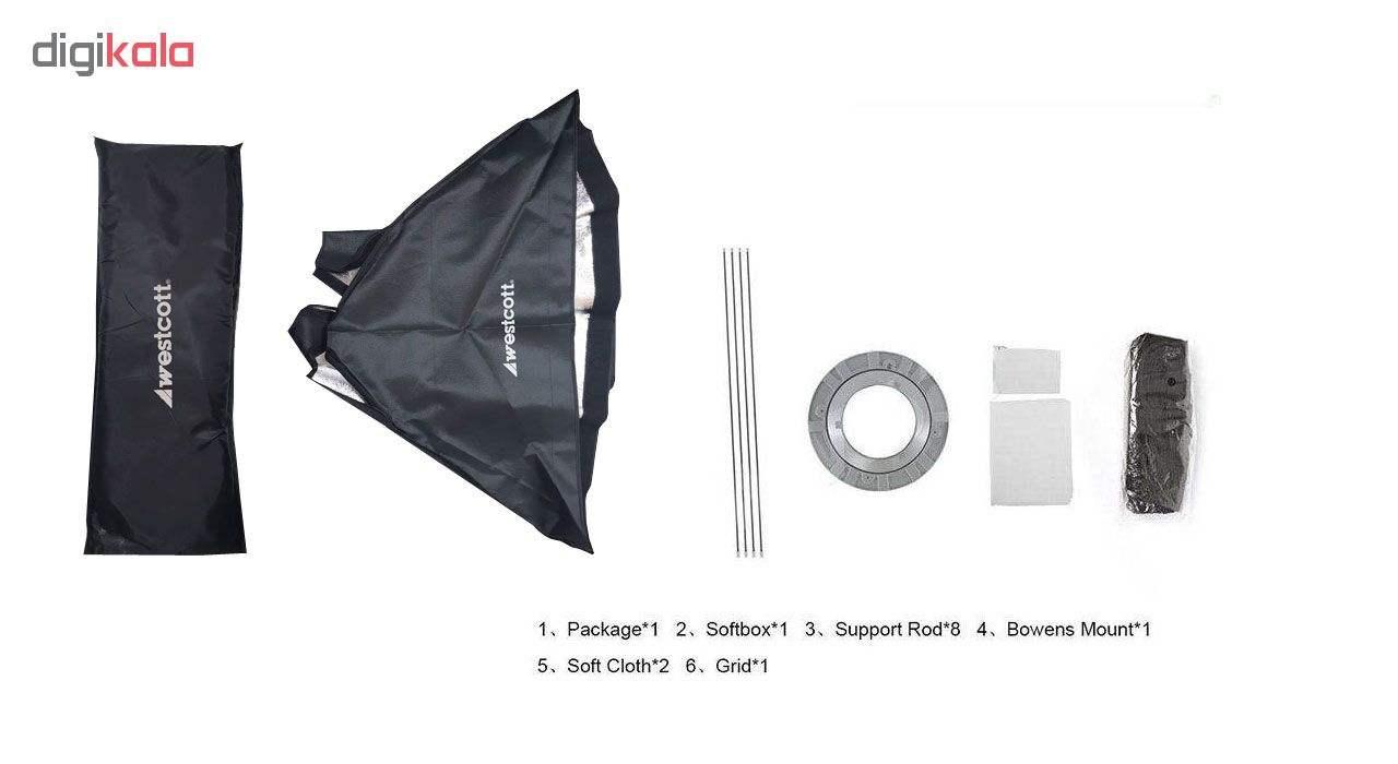سافت باکس وست کات مدل W50 سایز 70×50 سانتی متر main 1 2