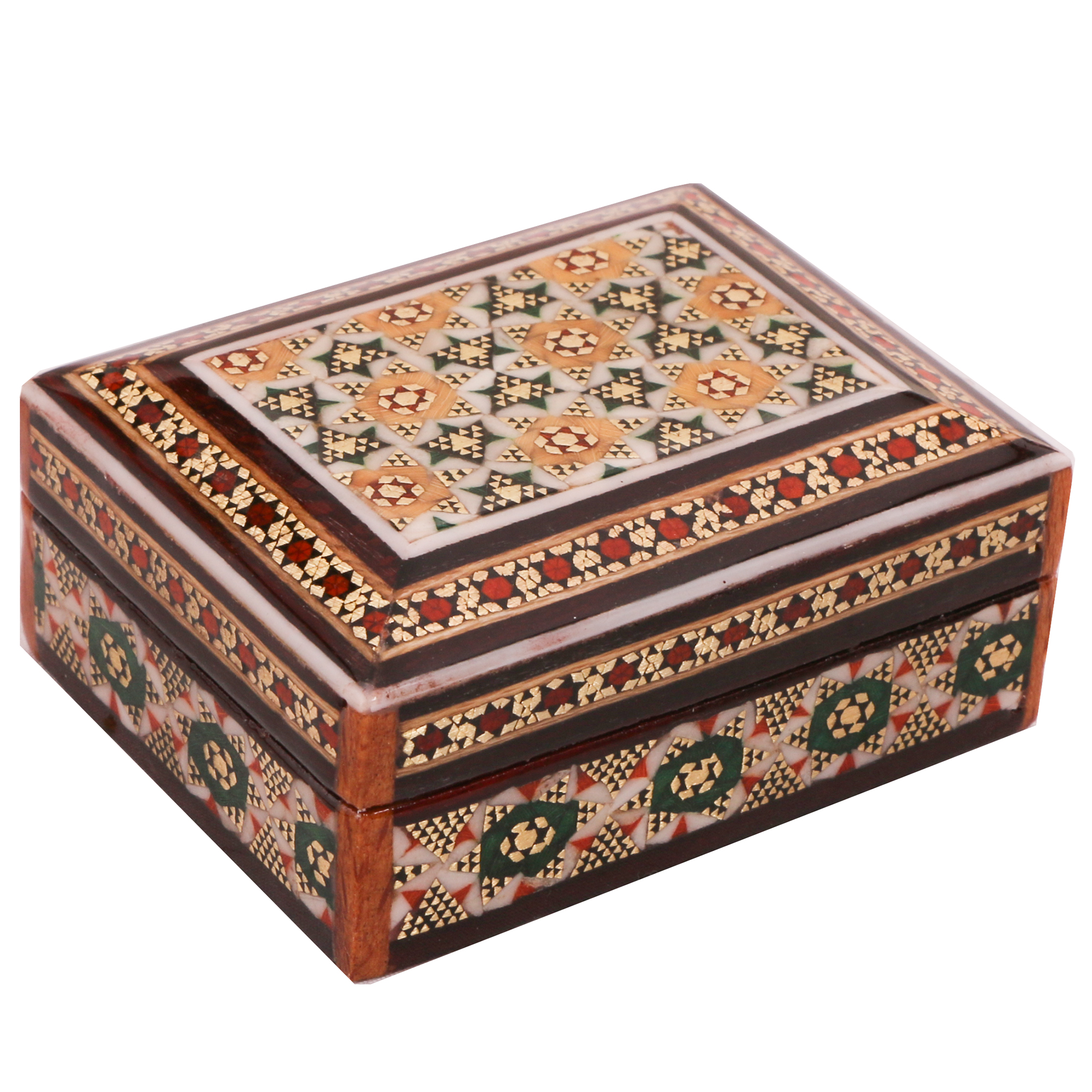 Inlay handicraft casket, code 916
