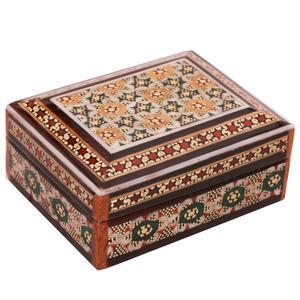 جعبه جواهر خاتم کاری کد 916