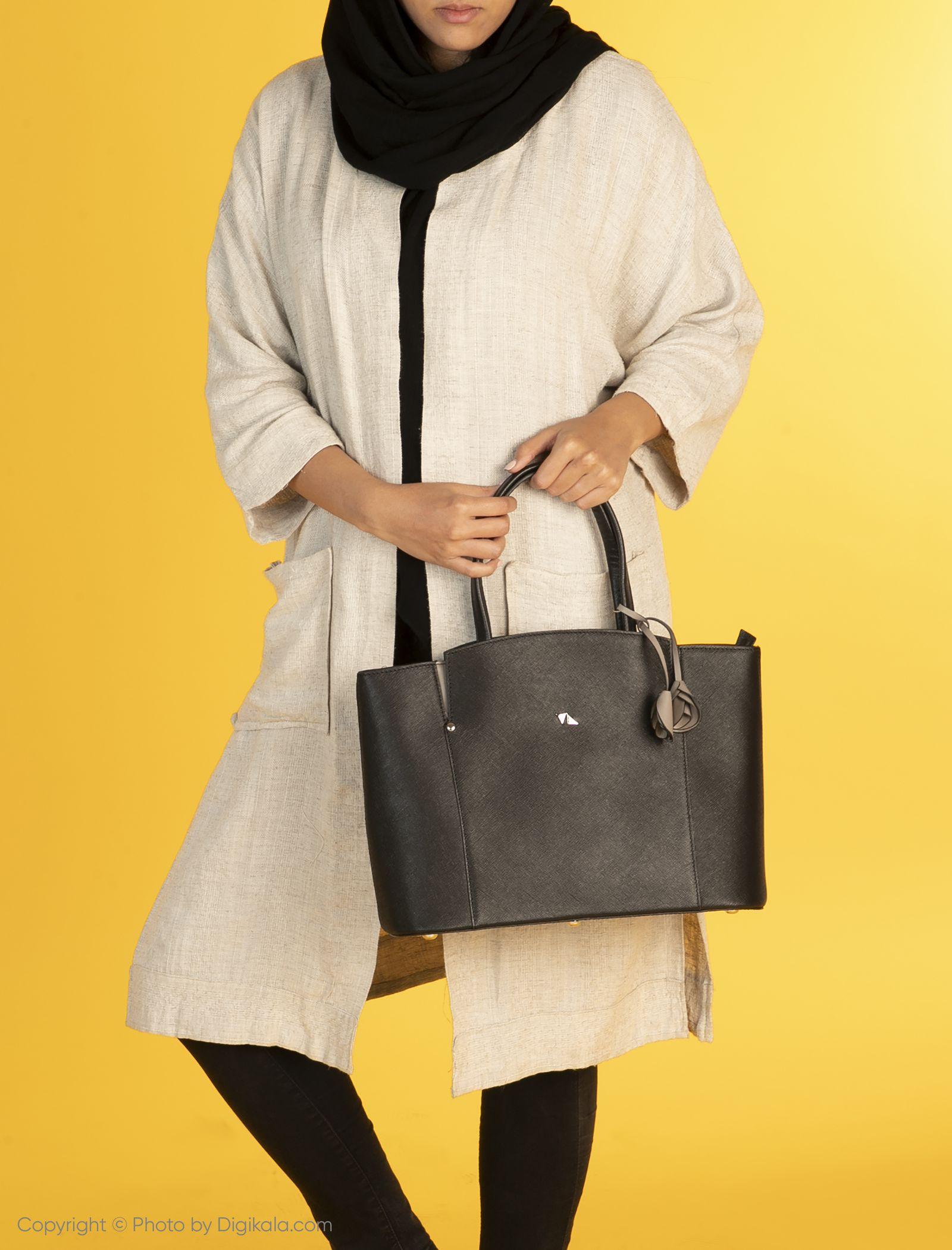 کیف دستی زنانه چرم مشهد مدل S0716-001 -  - 4