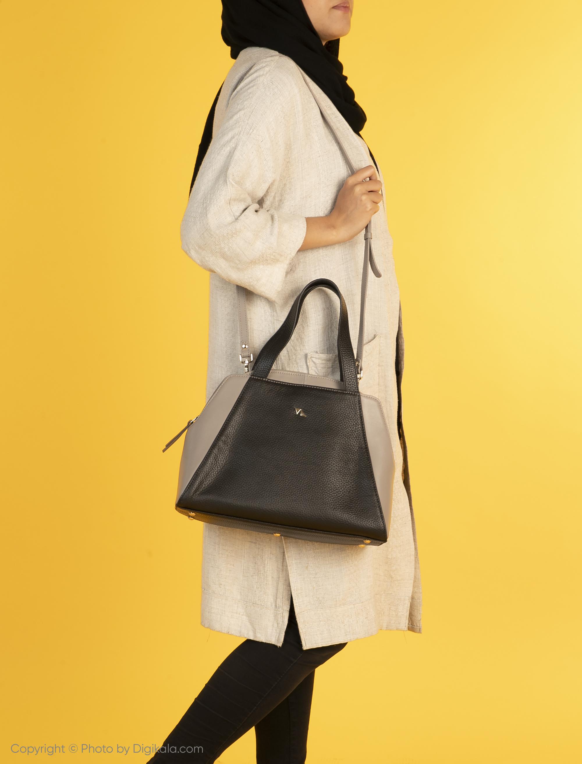کیف دستی زنانه چرم مشهد مدل S0712-008 -  - 3