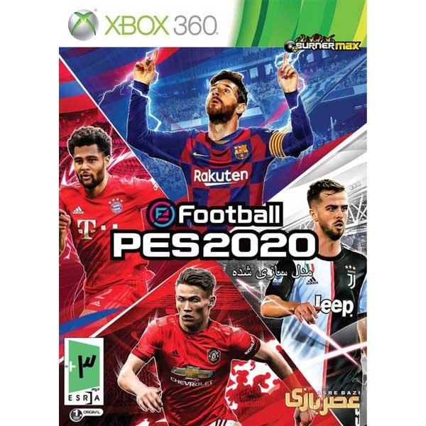 عکس بازی efootball PES 2020 مخصوص XBOX360