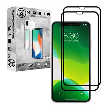 محافظ صفحه نمایش مسیر مدل MGF-2 مناسب برای گوشی موبایل اپل iPhone 11 Pro Max بسته 2 عددی