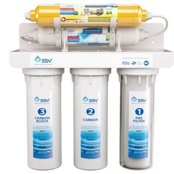 دستگاه تصفیه کننده آب اس اس وی مدل UltraJet X500