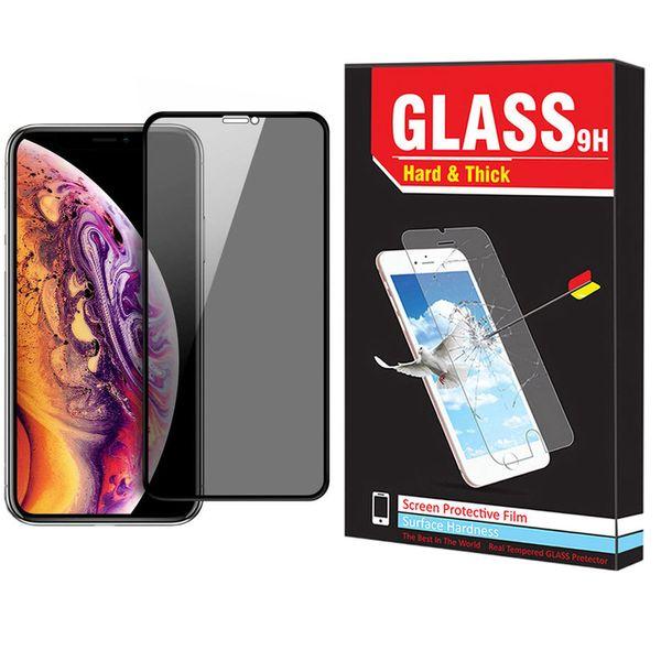 محافظ صفحه نمایش حریم شخصی Hard and Thick  مدل F-01 مناسب برای گوشی موبایل اپل Iphone 11 pro