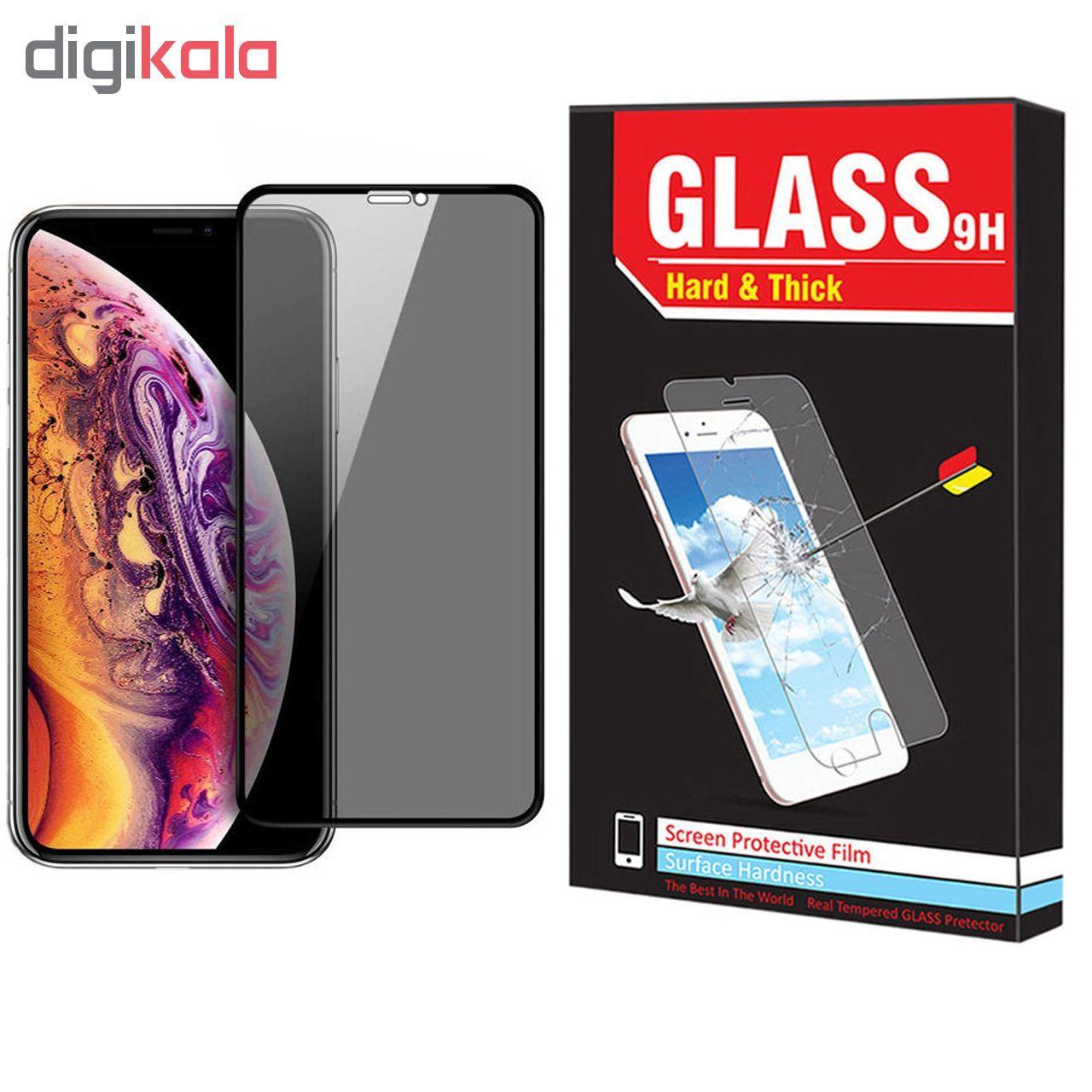 محافظ صفحه نمایش حریم شخصی Hard and Thick  مدل F-01 مناسب برای گوشی موبایل اپل Iphone 11 pro main 1 1