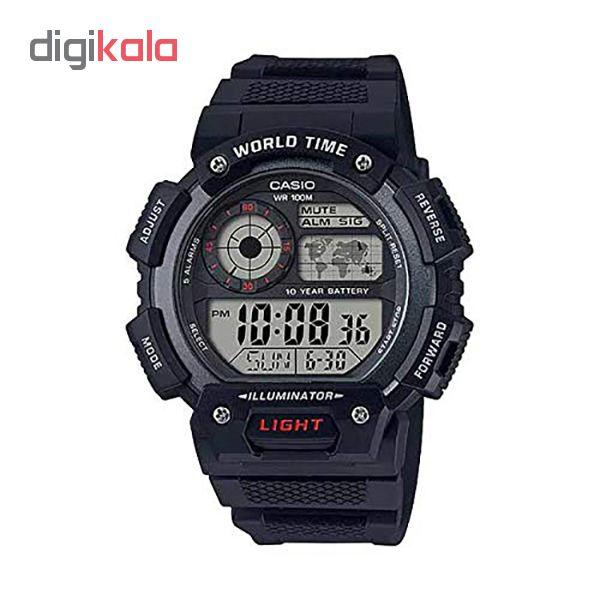 ساعت مچی دیجیتال مردانه کاسیو کد AE-1400WHD-1AVDF             قیمت
