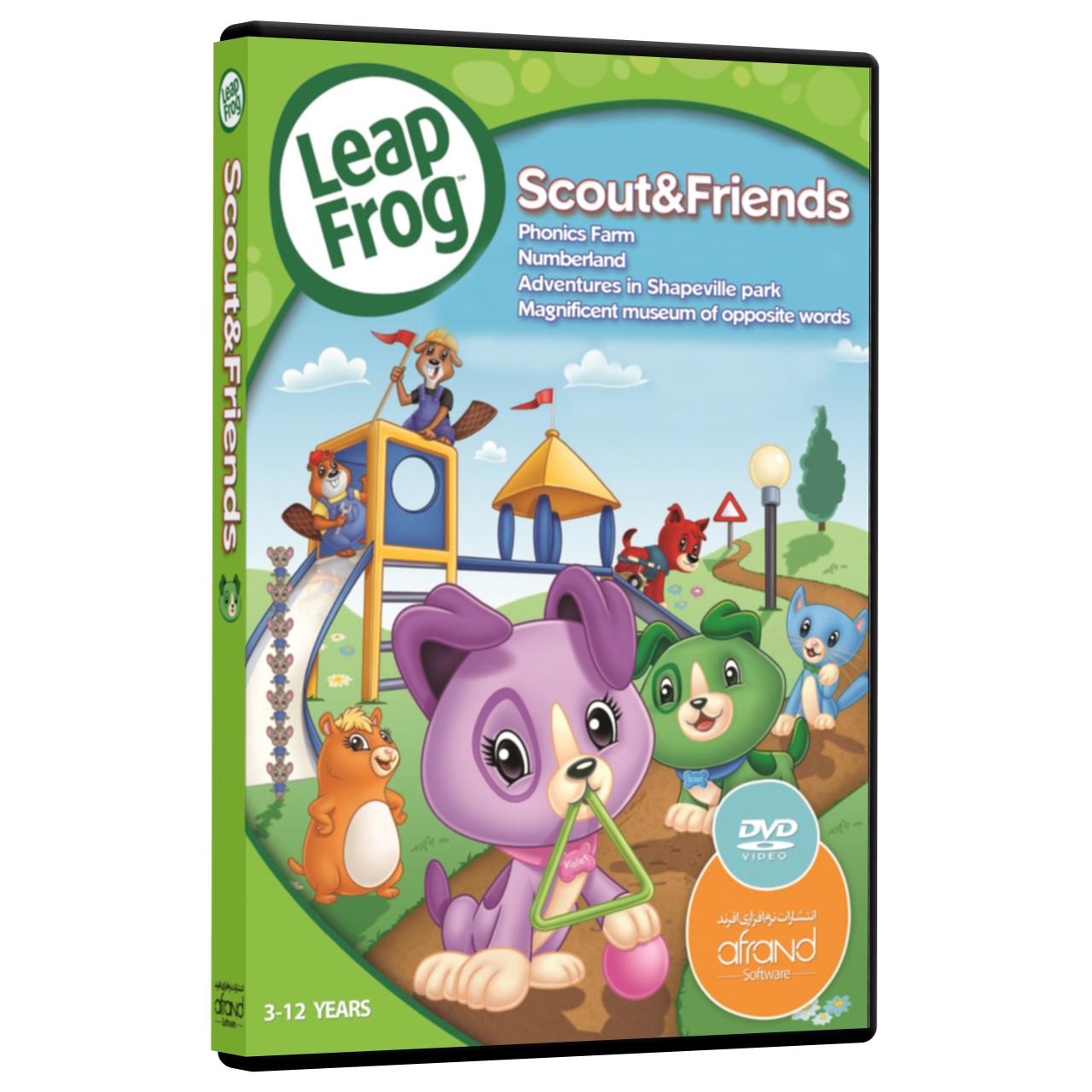 خرید فیلم آموزش زبان انگلیسی  LeapFrog Scout & Friends  انتشارات نرم افزاری افرند