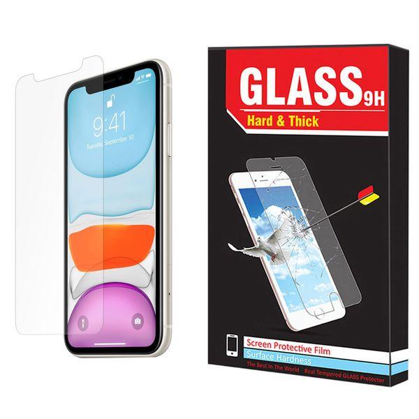 محافظ صفحه نمایش Hard and Thick مدل F-01 مناسب برای گوشی موبایل اپل Iphone 11