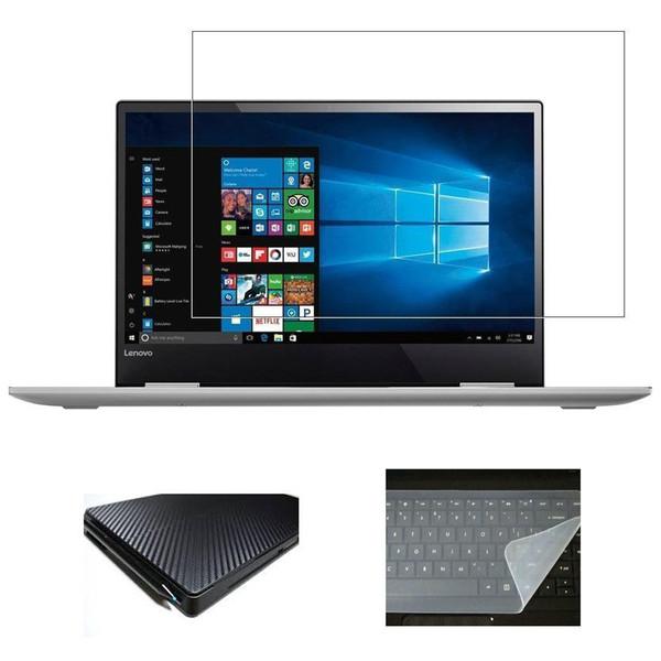 محافظ صفحه نمایش و پشت لپ تاپ مدل AX-301 مناسب برای لپ تاپ 14 اینچ به همراه محافظ کیبورد