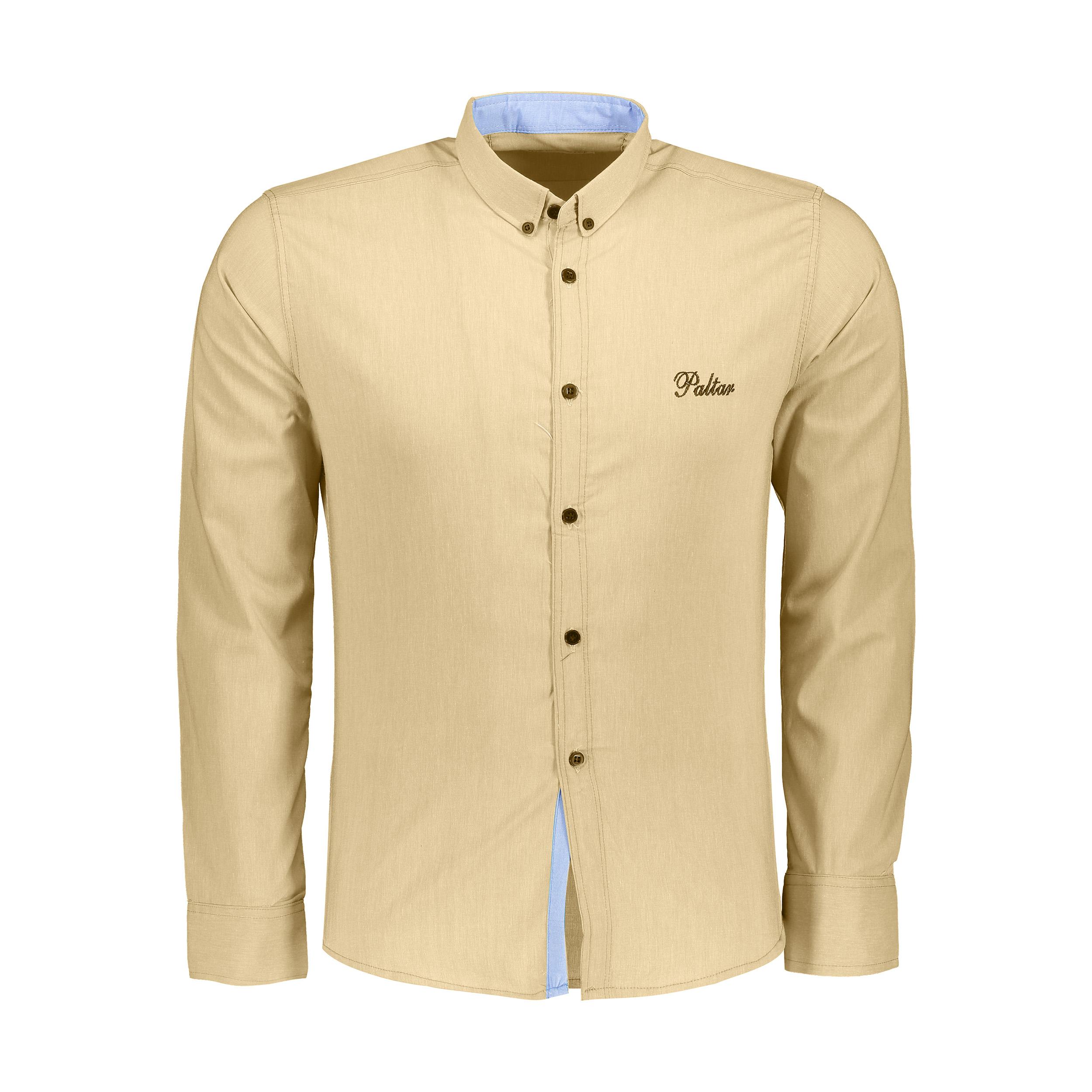 پیراهن آستین بلند مردانه کد M02167