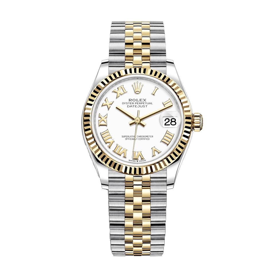 ساعت مچی عقربه ای زنانه مدل دیت جاست کد H2010