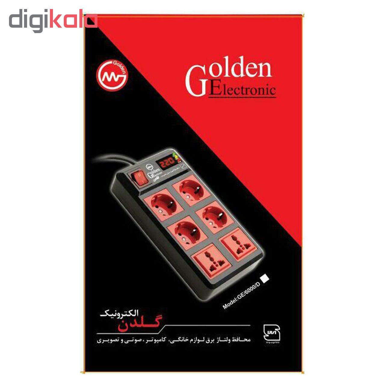 خرید اینترنتی محافظ ولتاژ گلدن الکترونیک مدل GE6000A اورجینال