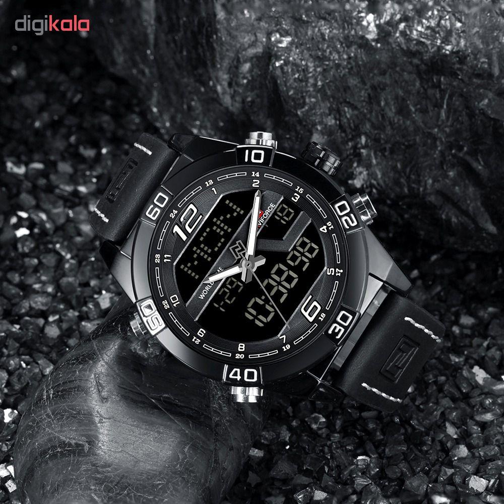 کد تخفیف                                      ساعت مچی دیجیتال مردانه نیوی فورس مدل NF9128M - ME-SE