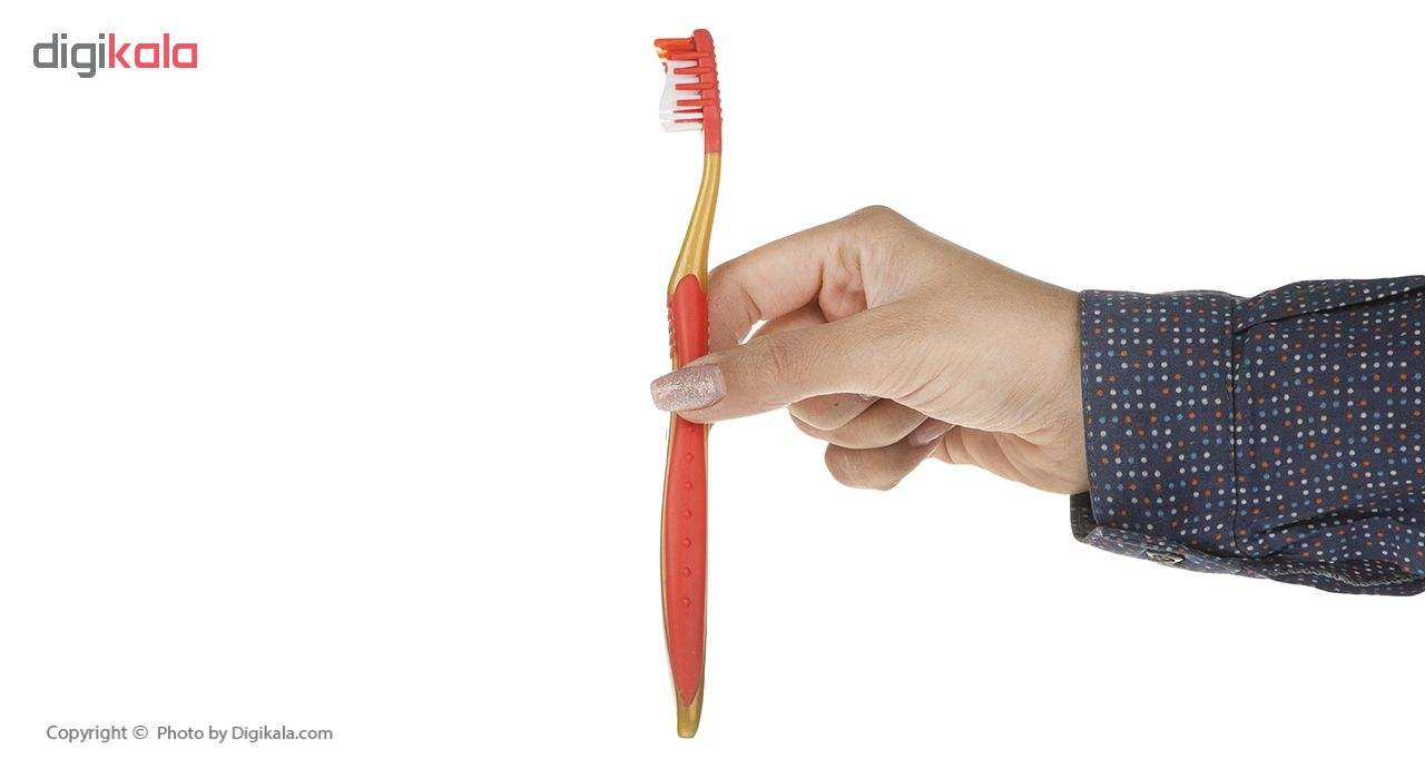 مسواک پاتریکس کد 345 با برس متوسط به همراه نخ دندان main 1 9