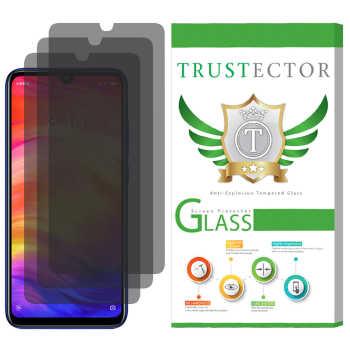 محافظ صفحه نمایش حریم شخصی تراستکتور مدل SPS مناسب برای گوشی موبایل شیائومی Redmi Note 7 / Note 7 Pro بسته 3 عددی