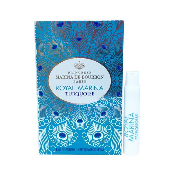 عطر جیبی زنانه پرنسس مارینا دو بوربون مدل Royal Marina Turquoise حجم 1 میلی لیتر
