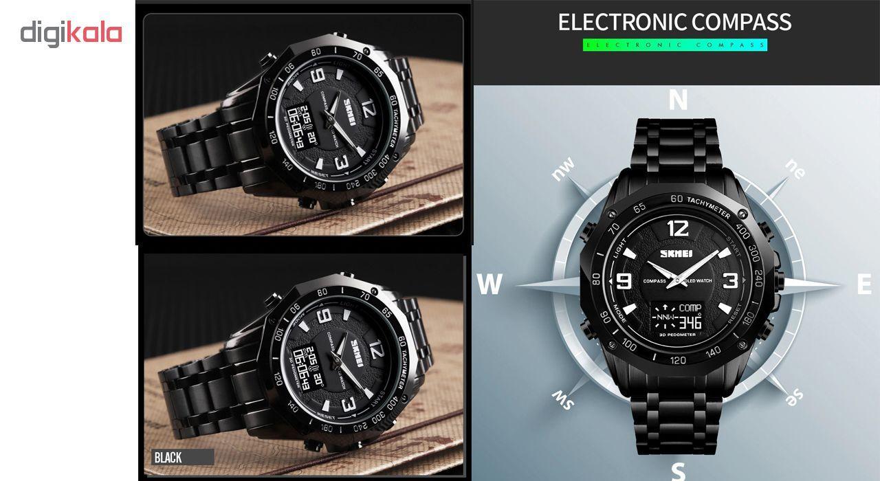 ساعت مچی عقربه ای مردانه اسکمی مدل 1464M -  - 3