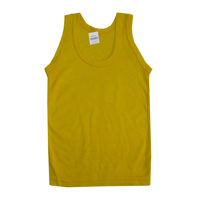 زیرپوش پسرانه حجت کد Hoj-R رنگ زرد