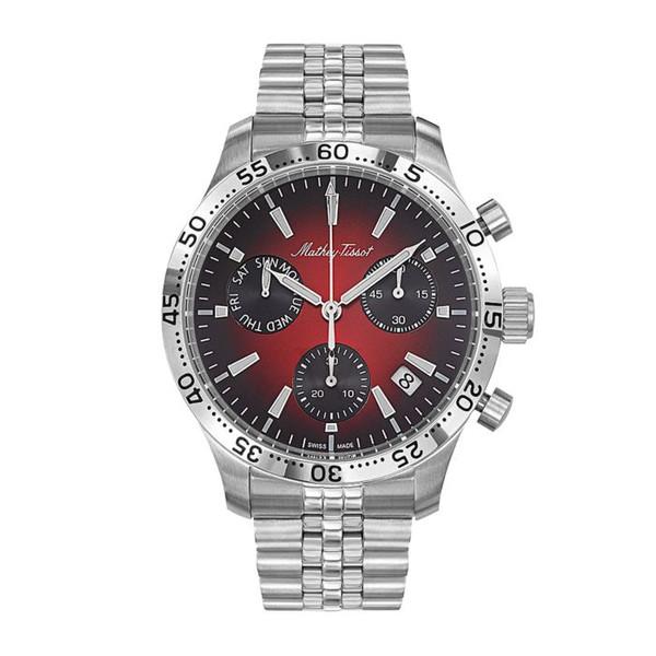 ساعت مچی عقربه ای مردانه متی تیسوت کد H1822CHAR
